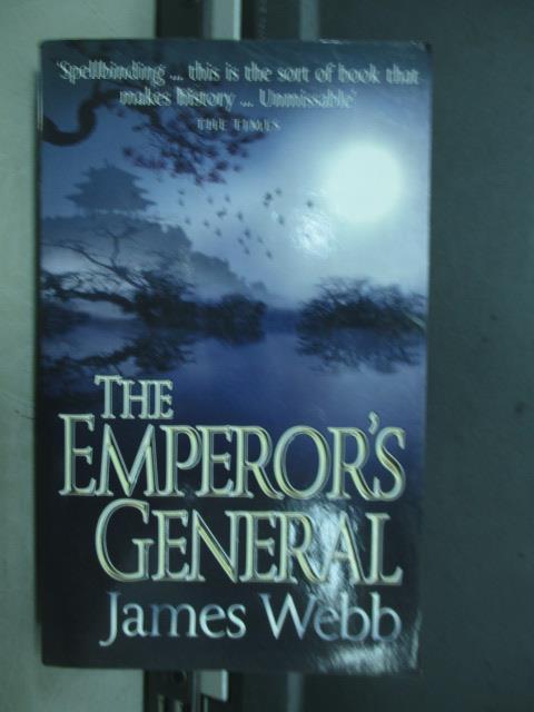 ~書寶 書T2/原文小說_MDM~The emperor  ^#27 s general_