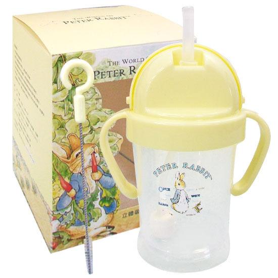 『121婦嬰用品』奇哥 彼得兔-立體吸管練習杯