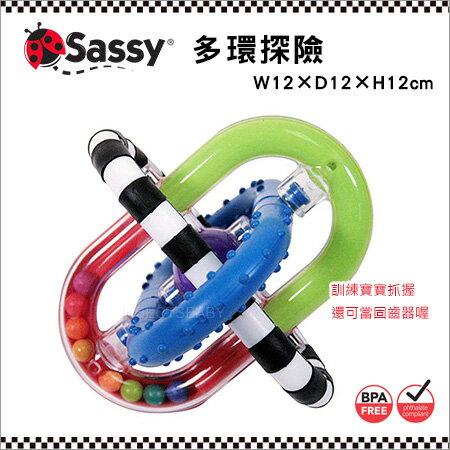 ✿蟲寶寶✿【美國Sassy】寶寶成長玩具 - 多環探險