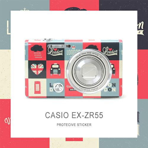 ★買貼膜再送手指環★只要評價★shine away CASIO ZR55 ZR65 貼膜 3M機身貼 貼紙 包膜 保護 5
