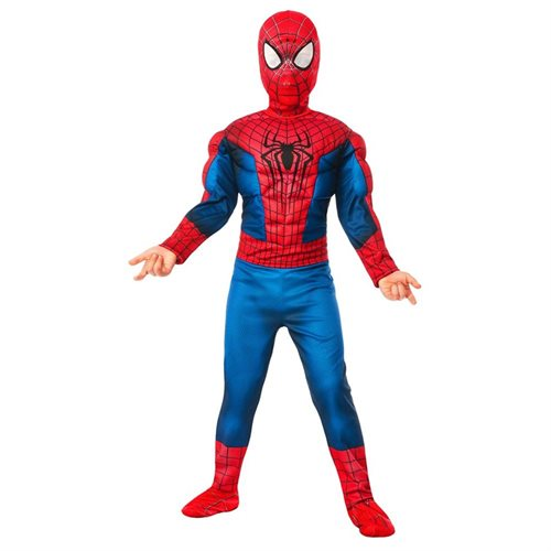 Deluxe Amazing Spider-Man 2 Muscle Chest Costume for Kids f5e8d9e401d02053bb7cd9fe77bccf63