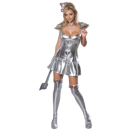 The Wizard of Oz: Women's Tin Woman Adult Halloween Costume 0