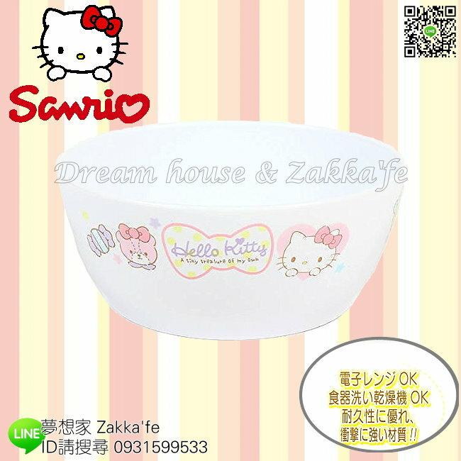 日本進口 sanrio 三麗鷗 Hello Kitty 輕量 兒童碗/兒童餐具《 日本製造 》★ 夢想家精品生活家飾 ★