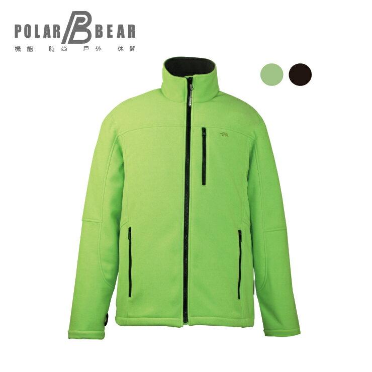 【POLAR BEAR】男WINDSTOPPER防風刷毛外套