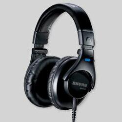 志達電子 SRH440 美國 SHURE 耳罩式 監聽耳機 (台灣公司貨) 門市開放試聽!