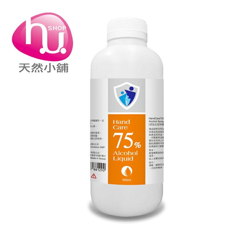 BIOGREEN Hand Care 75% Alcohol Liquid  /  75%酒精補充液-500ml 0