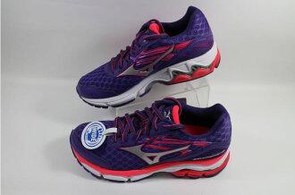 [陽光樂活] MIZUNO 美津濃 女慢跑鞋 WAVE INSPIRE 12(W) 寬楦 U4icX 支撐型 - J1GD164603
