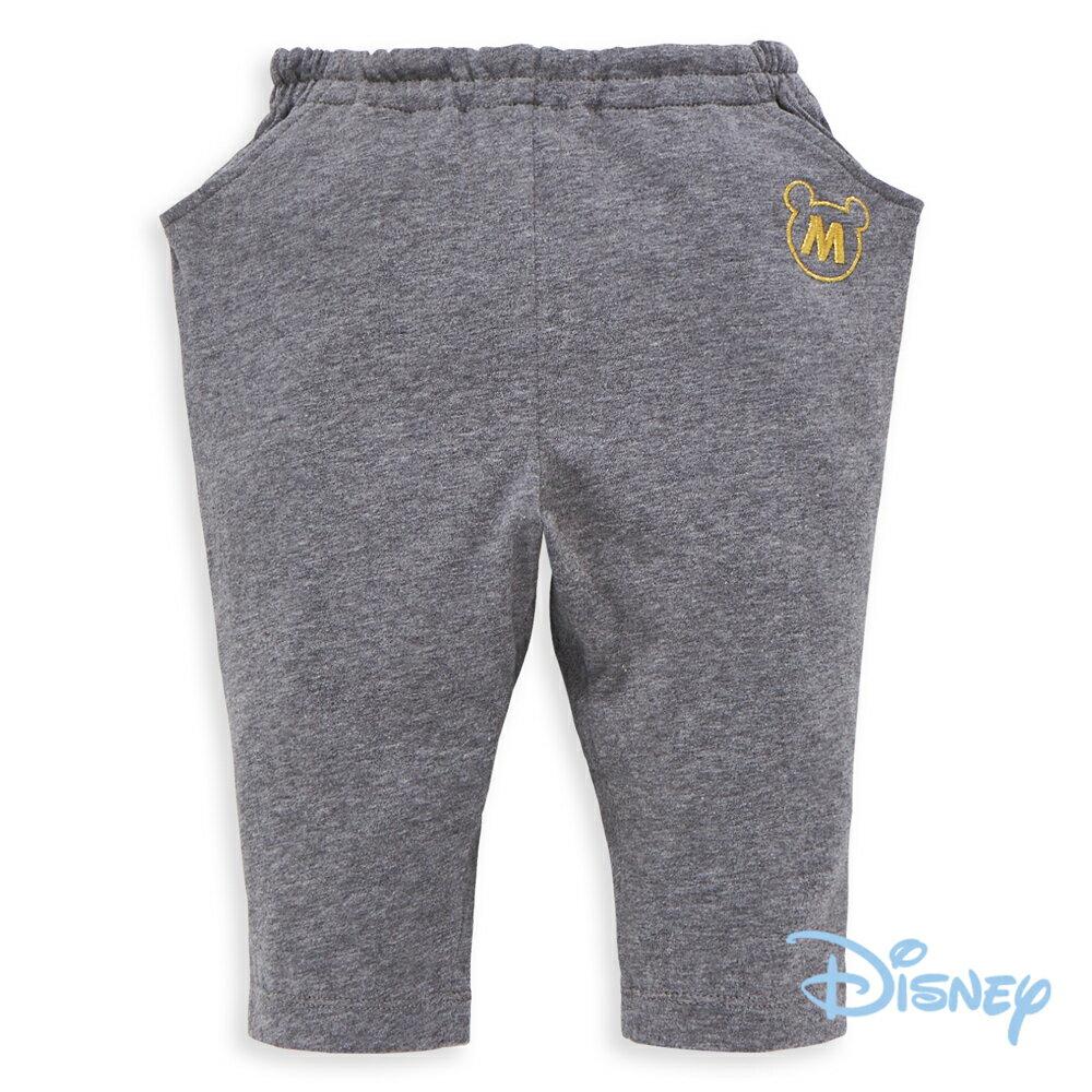 Disney俏皮米奇哈倫棉褲-灰色