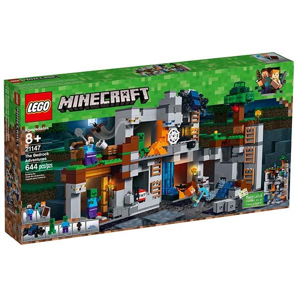 樂高LEGO 21147  Minecraft系列 - The Bedrock Adventures - 限時優惠好康折扣