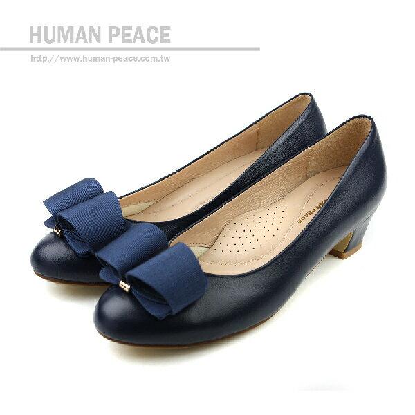 HUMAN PEACE 休閒鞋 深藍色 女鞋 no185