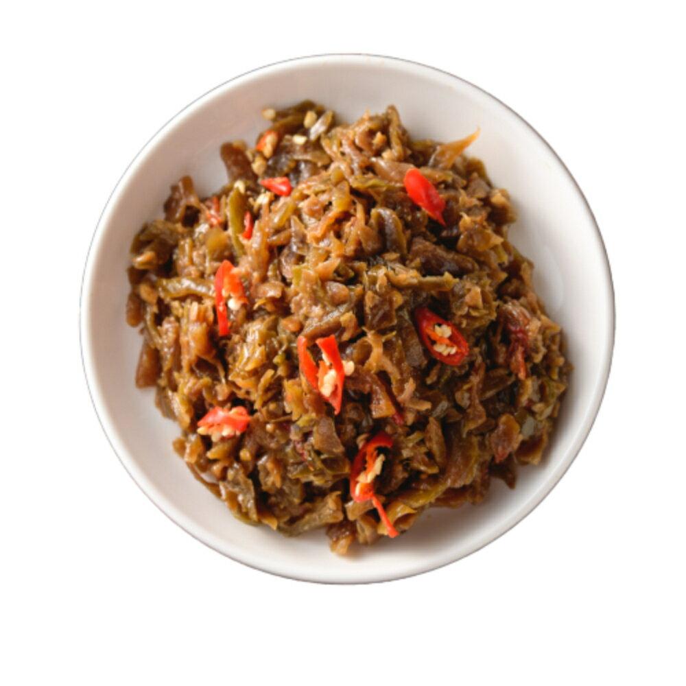 珊珊滷味小館 私房香辣榨菜 重量:300g