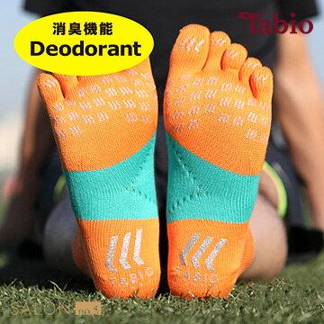 日本靴下屋Tabio 除臭速乾運動五指襪(25-27cm) / 馬拉松路跑必備/ RACING RUN