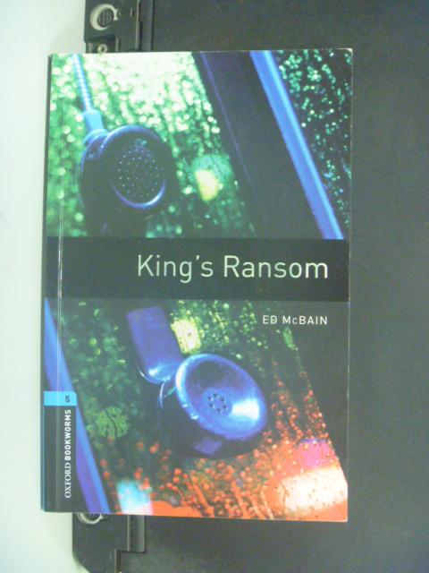 【書寶二手書T9/語言學習_NBR】King's Ransom: 1800 Headwords _Ed McBain