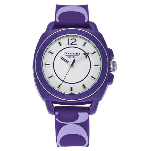 COACH魅麗風情休閒腕錶第二彈夢幻紫C014501466
