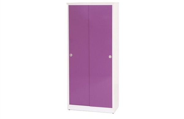 【石川家居】872-03(紫白色)拉門鞋櫃(CT-323)#訂製預購款式#環保塑鋼P無毒防霉易清潔