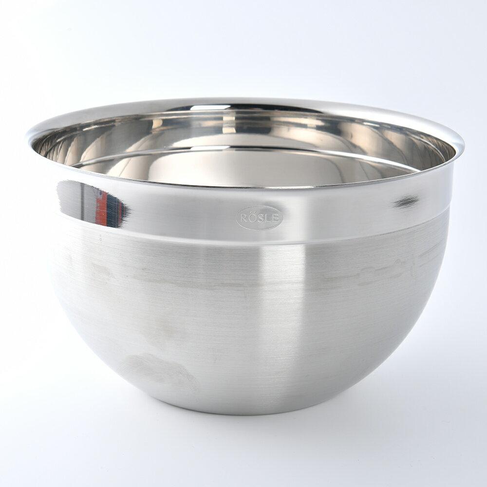 【德國Rosle】Rosle 不鏽鋼料理盆 調理碗 沙拉缽 20cm 2