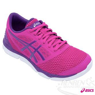 ASICS亞瑟士 女慢跑鞋 33-DFA 2 (桃紅) 輕量 緩衝