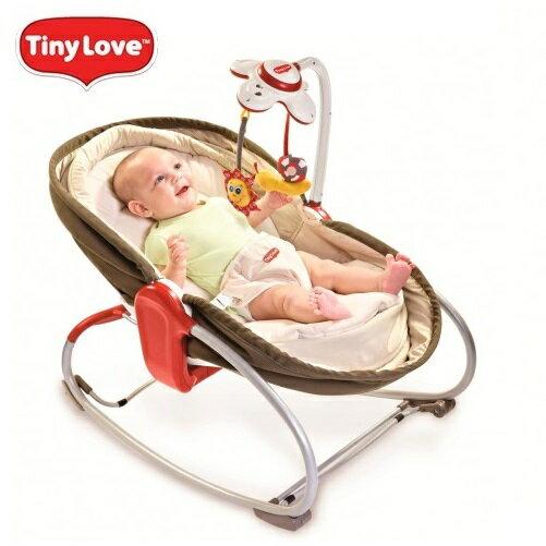 【安琪兒】【Tiny Love】Rocker- Napper 3-in-1 搖椅(藍/咖/紅) 2