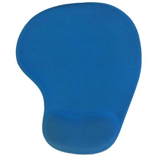 [福利品出清] 圓形滑鼠護腕墊 / 舒壓滑鼠墊 (藍/粉)