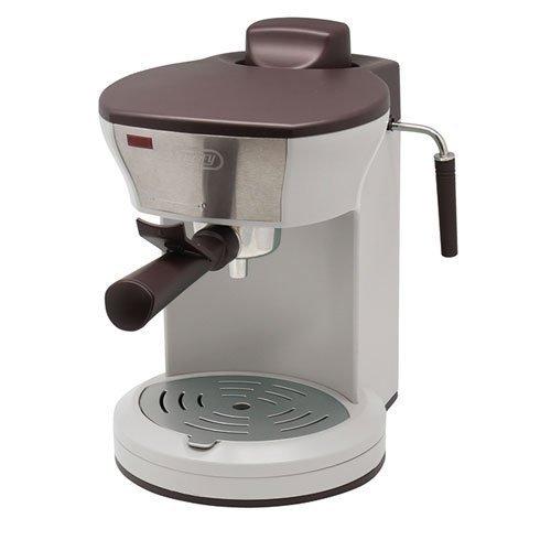 日本必買 Toffy K-CM3 (復古白色) 復古造型咖啡機 義式咖啡機/加熱蒸氣孔/奶泡/4杯量馬卡龍家電 K-CM3