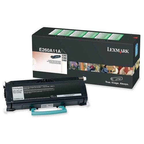 Lexmark E260, E360, E460 Return Program Toner Cartridge 0