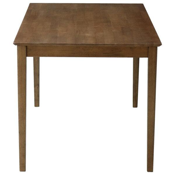 ◎(OUTLET)實木餐桌 SOLID2 135 MBR 橡膠木 福利品 NITORI宜得利家居 2