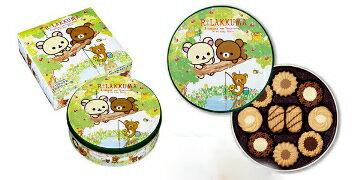 日本進口 北日本 布如蒙 拉拉熊餅乾禮盒 凱蒂貓奶油或可可 兩種口味餅乾禮盒 吃完盒子還可以留著用 送禮自用兩相宜
