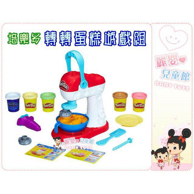 麗嬰兒童玩具館~培樂多Play-Doh創意DIY黏土-廚房系列-轉轉蛋糕遊戲組 6