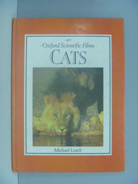 ~書寶 書T6/動植物_ZDK~Cats  Oxford Scientific Films