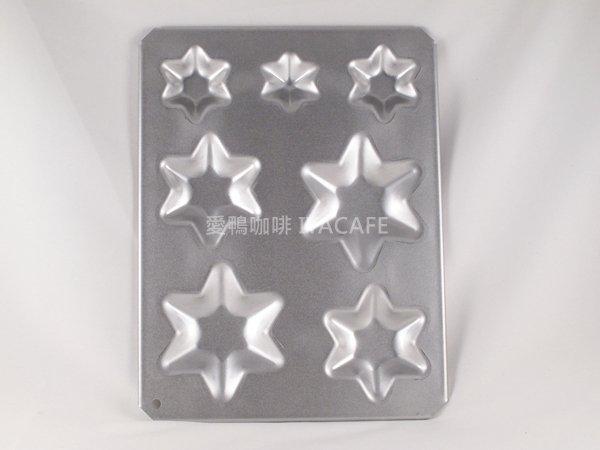 《愛鴨咖啡》NO-1196 日本CakeLand星星 聖誕樹 蛋糕烤盤