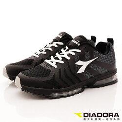 【DIADORA】乳膠動能氣墊鞋款(黑)男款-8AMR5850
