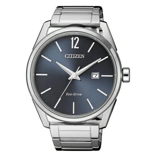 CITIZEN簡約風格三針光動能時尚腕錶BM7411-83H