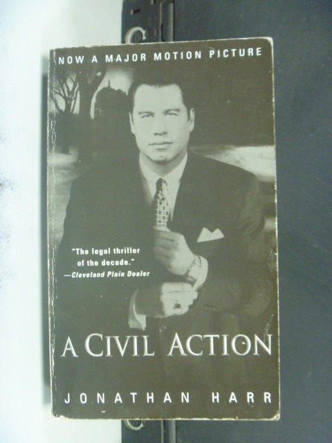 【書寶二手書T2/原文小說_JOP】A Civil Action_Jonathan Harr