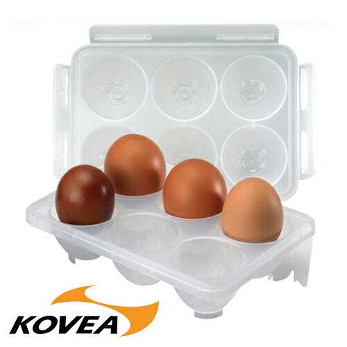 【鄉野情戶外用品店】 KOVEA |韓國| 可堆疊六入蛋盒/KECK9JB-07