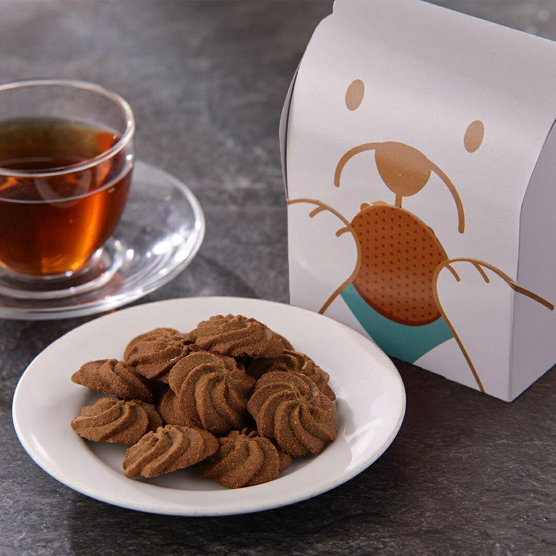 【不二緻果-高雄不二家】阿薩姆茶旅手工餅乾-狗狗盒 ★港都81年老店 0