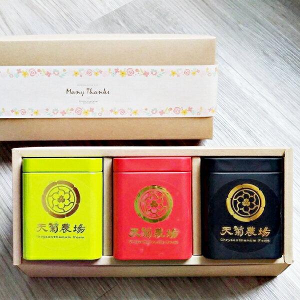 天然菊花枸杞茶包組禮盒【TEAKINO天菊農場】 0