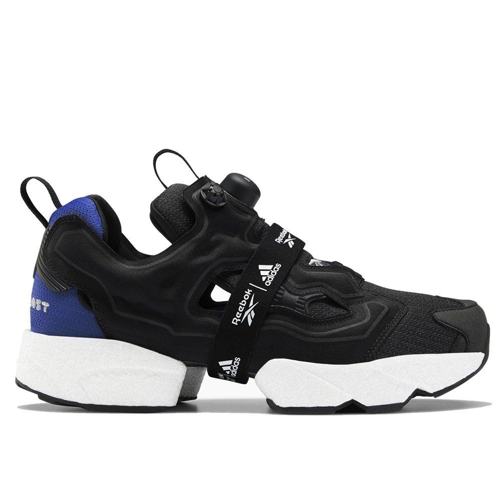 【日本海外代購】REEBOK 愛迪達 PUMP FURY X BOOST 爆米花 充氣 黑白 黑底 繃帶 慢跑 男女鞋 FW5307