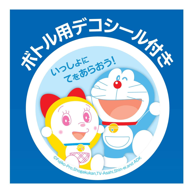日本MUSE  /  限量款 哆啦A夢 小叮噹自動泡沫給皂機  250ml(主機+補充瓶*1)-日本必買 日本樂天代購(1315)。滿額免運 3