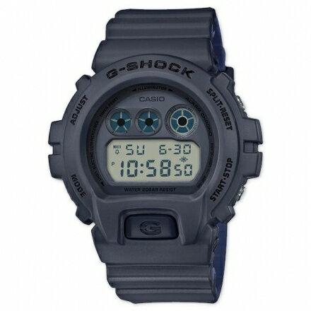 G-SHOCKDW-6900LU-8雙色錶帶設計潮流錶DW-6900LU-8DR灰色左款【迪特軍】