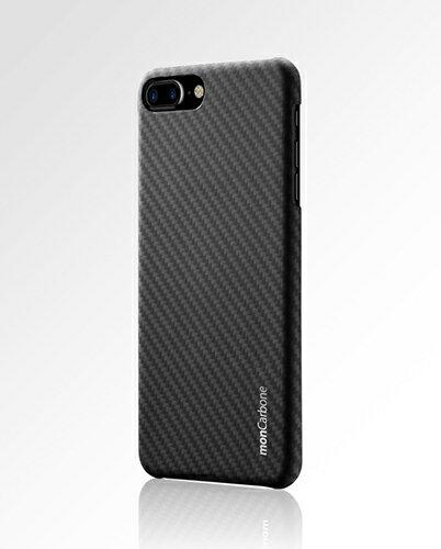 iPhone 7 monCarbone HOVERKOAT 克維拉防彈纖維時尚風手機殼(碳纖黑)