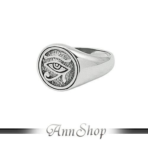 AnnShop~925純銀‧專注之眼戒指~銀飾飾品 情人 r92024
