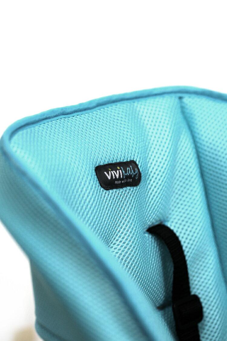 ViViBaby - 蜂巢式立體座墊高低兩段高腳餐椅 4