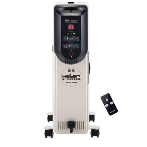 ★贈冷熱敷袋★ 嘉儀 10片葉片式遙控電暖爐 KED-510T /KED510T   **免運費**
