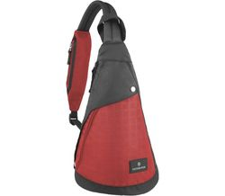 Victorinox 瑞士維氏 Altmont 3.0  水滴型單肩側背包 TRGE-601440  (黑紅)  / 個