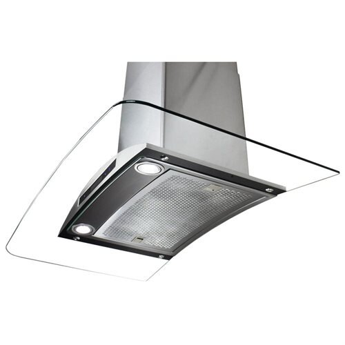 "AKDY 36"" AK-198KN36CF Stainless Steel Wall Range Hood Carbon Filter Included For Ventless/Ductless Options 3"