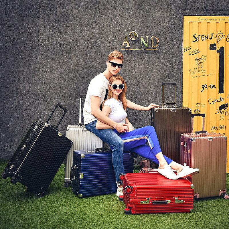 《箱旅世界》BoxTrip 20吋全鋁鎂合金復古款行李箱 登機箱 鋁合金旅行箱