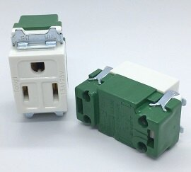 【佑齊企業 iCmore】YMD-1002 / TL-1101  15A 125V 三線式單插座 / AC插座(10個含稅價)
