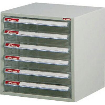 【文具通】A4-106P桌上型資料櫃(透明抽)A0680013