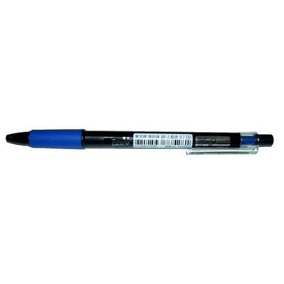 【文具通】東文BP-1黑珍珠自動原子筆0.7 藍 A1011461
