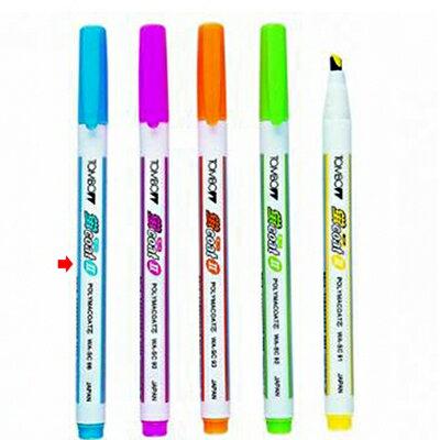 【文具通】TOMBO 蜻蜓 螢光暗記筆 WA-SC 藍 A1040041